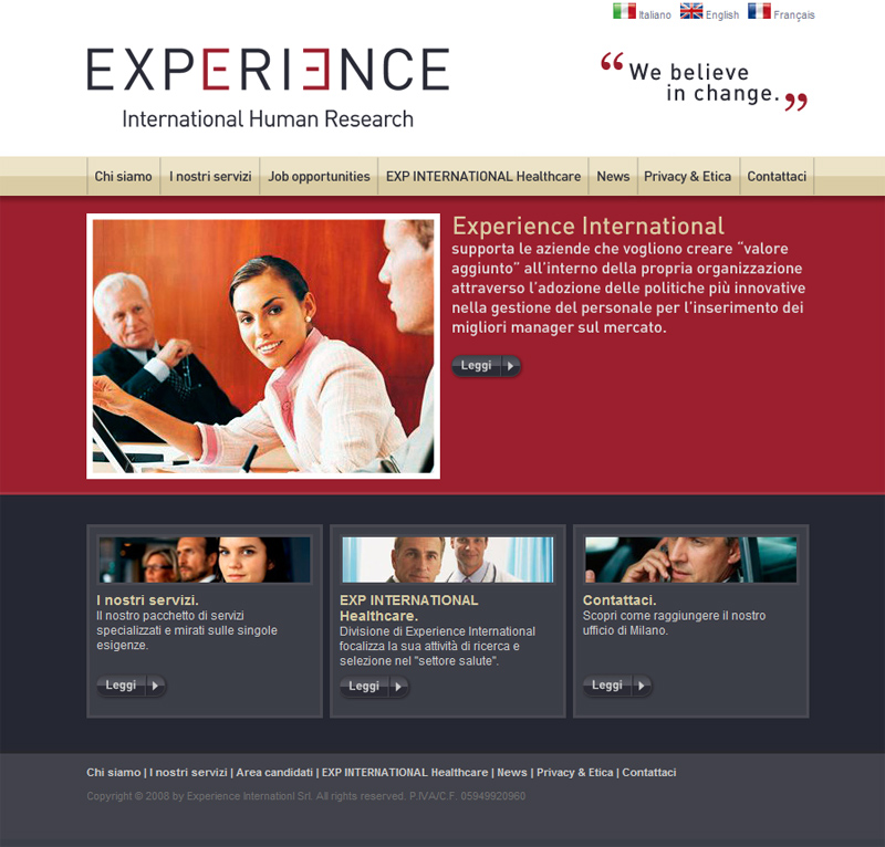 Experience INT