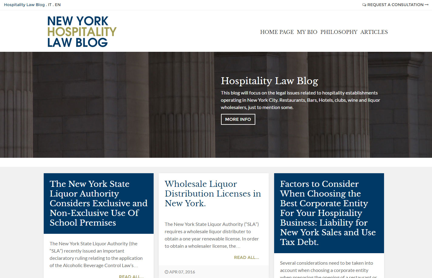 Hospitality Law Blog NY